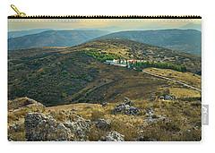 Monastery Agion Anargiron Above Argos Carry-all Pouch