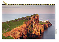 Carry-all Pouch featuring the photograph Neist Point Sunset - Isle Of Skye by Grant Glendinning