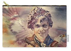 On Eagles Wings Carry-all Pouch