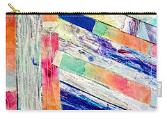 Carry-all Pouch featuring the painting Out Of Site, Out Of Mind by Tracy Bonin