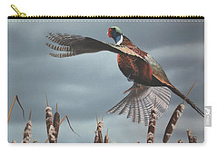 Out Of The Cattails Carry-all Pouch