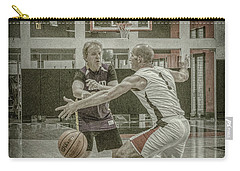 Carry-all Pouch featuring the photograph Phil Parsons by Ronald Santini