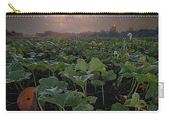 Carry-all Pouch featuring the photograph Pumpkin Patch  by Aaron J Groen
