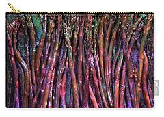 Purple Asparagus Carry-all Pouch