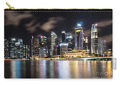 Singapore By Night Carry-all Pouch