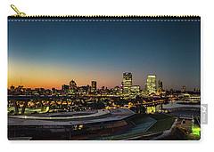 Carry-all Pouch featuring the photograph Summerfest Sunset by Randy Scherkenbach