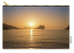 Sunrise On A Beach In Aguilas, Murcia Carry-all Pouch