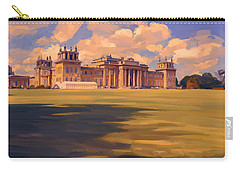 The White Party Tent Along Blenheim Palace Carry-all Pouch