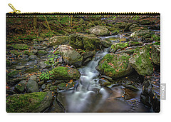 Carry-all Pouch featuring the photograph Vaughan Brook by Rick Berk
