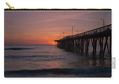 Carry-all Pouch featuring the photograph Virginia Sunrise by Pete Federico