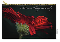 Whatsoever Things Are Lovely Carry-all Pouch