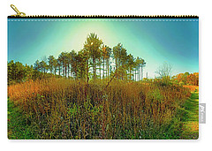 Carry-all Pouch featuring the photograph Which Way To Go  by Tom Jelen