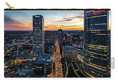 Carry-all Pouch featuring the photograph Wisconsin Avenue by Randy Scherkenbach