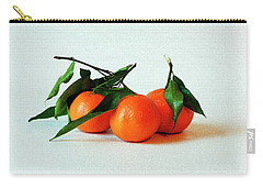 11--01-13 Studio. 3 Clementines Carry-all Pouch