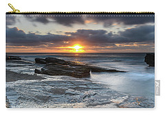 A Moody Sunrise Seascape Carry-all Pouch