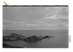 Dawn In Black And White In The Cap De Creus Carry-all Pouch