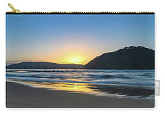 Hazy Sunrise Seascape Carry-all Pouch