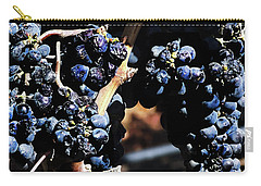 122918 Wine On The Vine Carry-all Pouch
