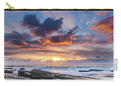 An Atmospheric Sunrise Seascape Carry-all Pouch