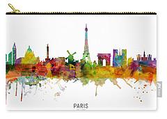 Paris Skyline Carry-All Pouches