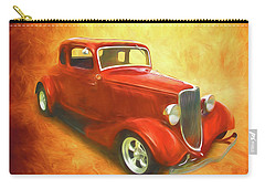 1934 Ford On Fire Carry-all Pouch