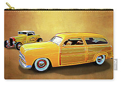 1949 Woody And 1932 Roadster Carry-all Pouch