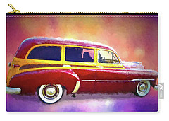 1951 Chevy Woody Sideview Carry-all Pouch