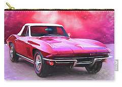 1965 Red Vette Carry-all Pouch