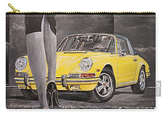 1968 Porsche 911 Targa Carry-all Pouch