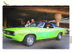 1970 Green Cuda Carry-all Pouch
