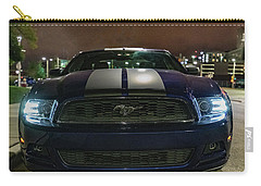 Carry-all Pouch featuring the photograph 2014 Ford Mustang by Randy Scherkenbach