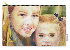 Belle And Maddie Carry-all Pouch