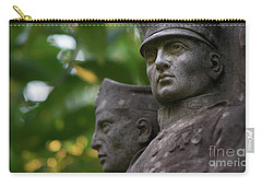Carry-all Pouch featuring the photograph Monument To The Duchess Of Victory Genoves Park Cadiz Spain by Pablo Avanzini