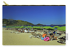 Carry-all Pouch featuring the photograph On The Beach by Tony Murtagh