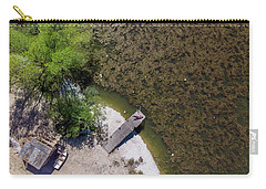 Carry-all Pouch featuring the photograph Pier by Okan YILMAZ