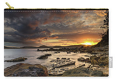 Stormy Sunrise Seascape Carry-all Pouch