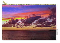 Carry-all Pouch featuring the photograph Sunset by Tony Murtagh