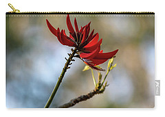 Coral Tree Flowers Carry-all Pouch