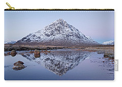 Carry-all Pouch featuring the photograph Dawn In Glencoe by Stephen Taylor