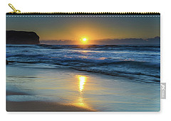 Sunrise Lights Up The Sea Carry-all Pouch