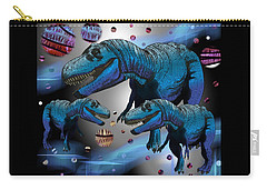 Tyrannosaurus Three Moons Carry-all Pouch