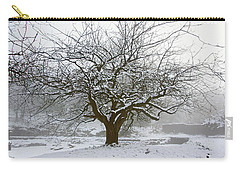 30/01/19  Rivington.  Japanese Pool. Snow Clad Tree. Carry-all Pouch