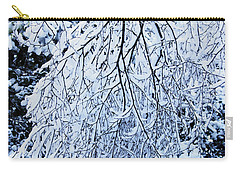 30/01/19  Rivington. Snow Covered Branches. Carry-all Pouch