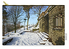 30/01/19  Rivington. Summerhouse In The Snow. Carry-all Pouch