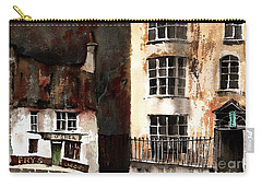 Carry-all Pouch featuring the painting 305 Frys Chochies In Killarney, Co. Kerry by Val Byrne