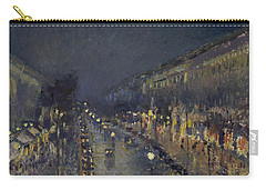 The Boulevard Montmartre At Night Carry-all Pouch