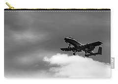 Carry-all Pouch featuring the photograph A-10 Slow Pass by Doug Camara