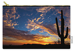 Carry-all Pouch featuring the photograph A Blanket Of Many Colors by Rick Furmanek