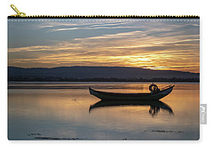 Carry-all Pouch featuring the photograph A Boat by Bruno Rosa