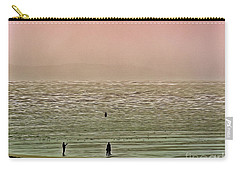 Carry-all Pouch featuring the photograph A Distant Shore by Leigh Kemp